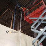 Technician wiring
