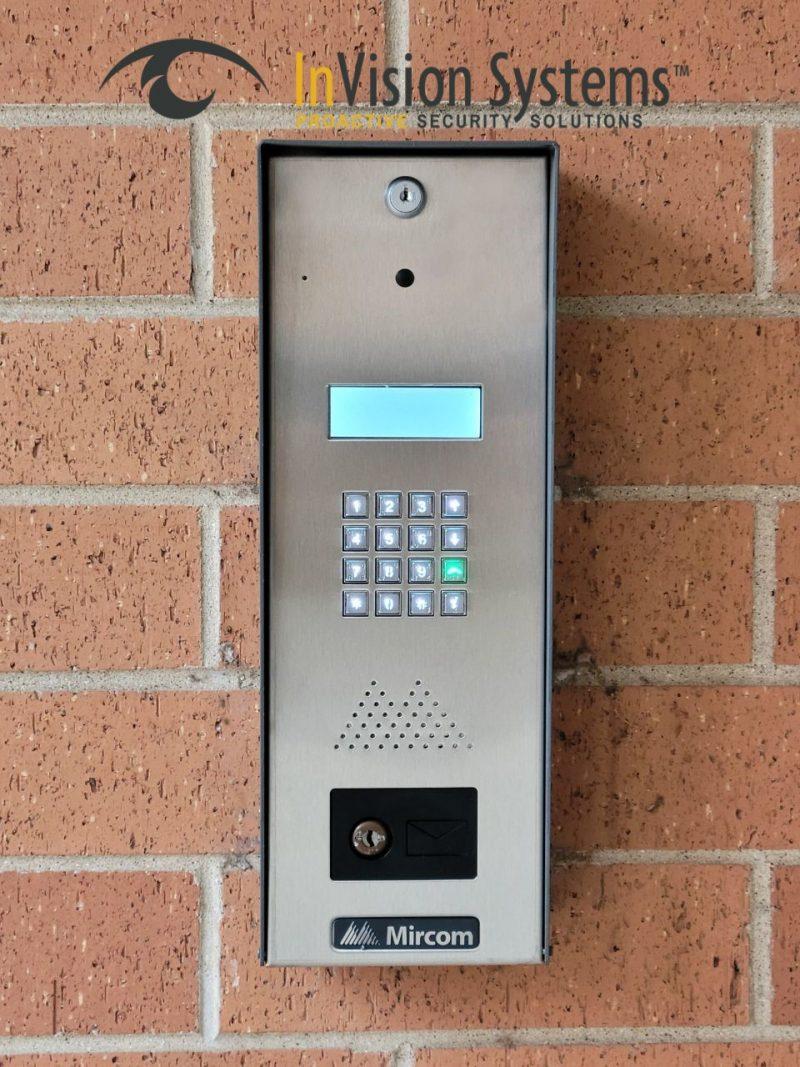 Mircom Phone Entry Panel